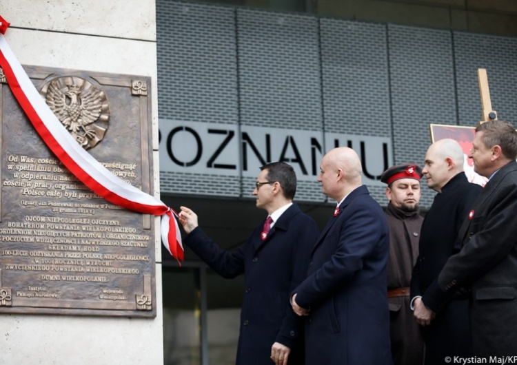 [Video] Premier M. Morawiecki w Poznaniu: Wszyscy jesteśmy powstańcami wielkopolskimi