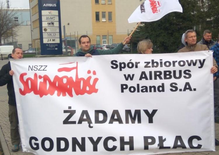 Pracownicy Airbusa szykują się do strajku ostrzegawczego