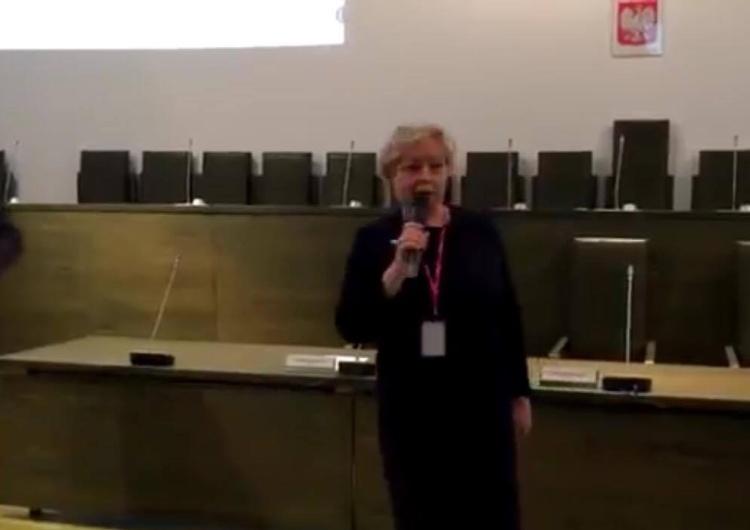 "[video] Małgorzata Gersdorf do dzieci: ""Ja nazywam się Małgorzata Gersdorf i jestem tu najważniejsza"""