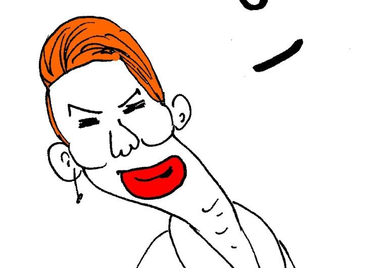 """[Kliknij aby zobaczyć całość] Nowy rysunek Krysztopy: """"Taka praca"""""""