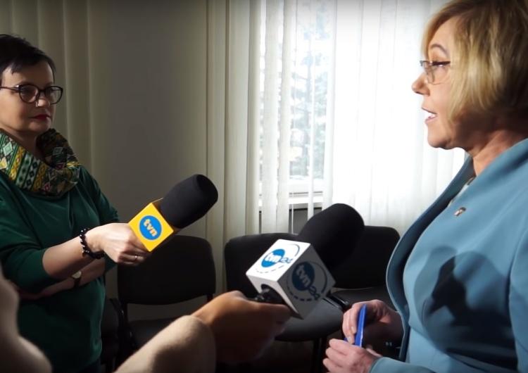 Małopolska kurator oświaty Barbara Nowak apeluje: Negocjujmy, nie odchodźmy od uczniów!
