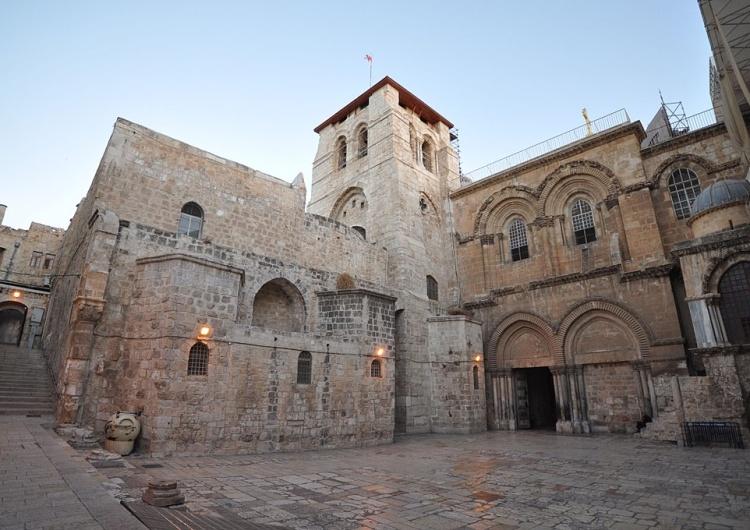 Ambasada Izraela składa życzenia wielkanocne i publikuje wizerunek Chrystusa z Bazyliki Grobu Pańskiego