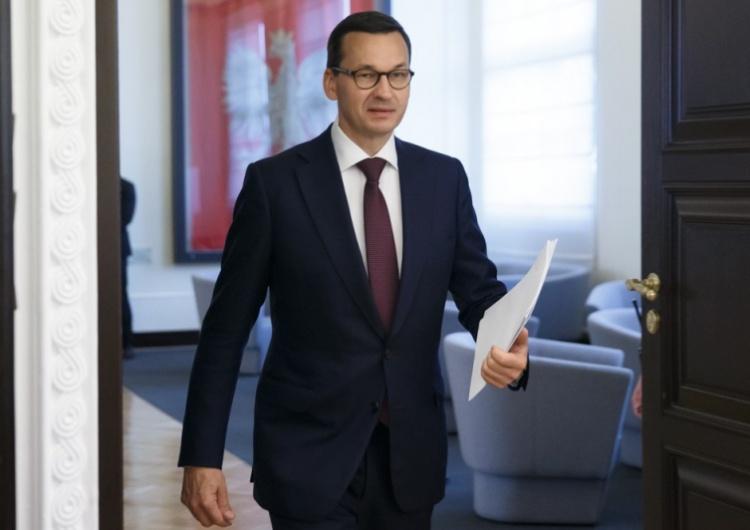 [video] Premier Morawiecki wyklucza możliwość płacenia przez Polskę odszkodowań: Dla mnie nie ma tematu
