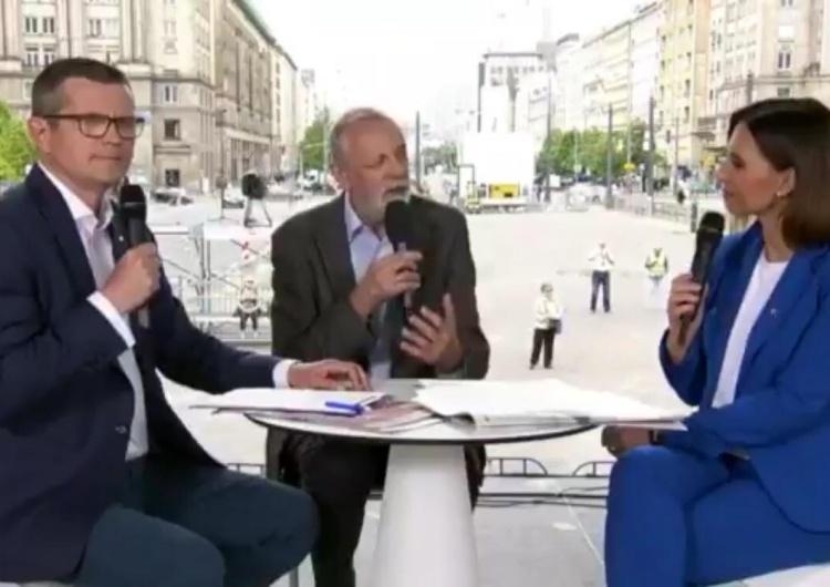"""[video] Grupiński przed kamerami: """"Nie ma prawdy w tym, co robią politycy PiS"""", a nieoficjalnie..."""