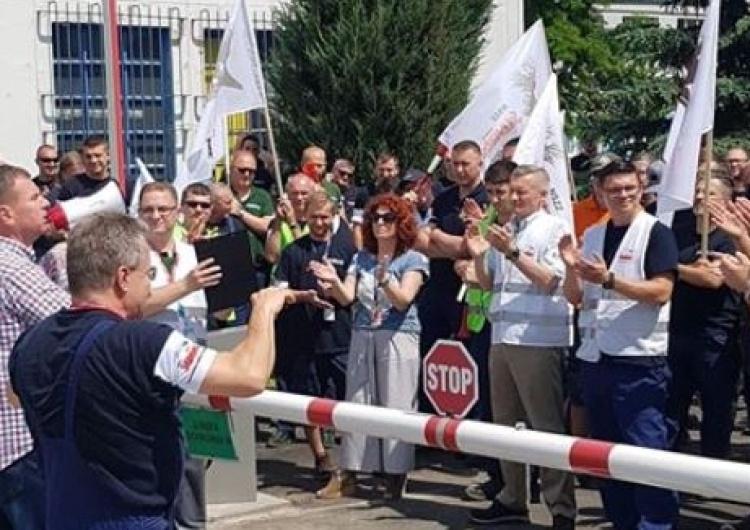 List Piotra Dudy do strajkujących w Airbus Poland: I tak wygramy!