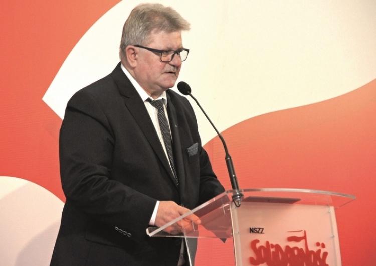 """Tadeusz Majchrowicz: """"Działania ZNP były decyzją polityczną. Gdyby """"S"""" nie podpisała porozumienia..."""""""