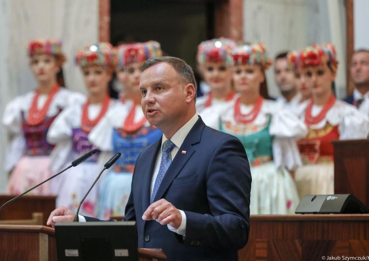Andrzej Duda: Pochylam głowę na znak czci dla pokoleń Ślązaków