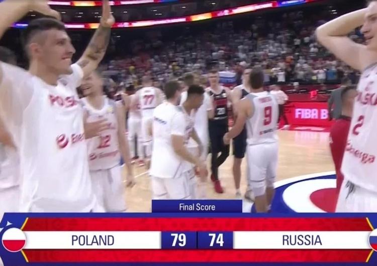 Polska reprezentacja wygrywa z Rosją 79:74 i jest jedną nogą w ćwierćfinale Mistrzostw Świata!