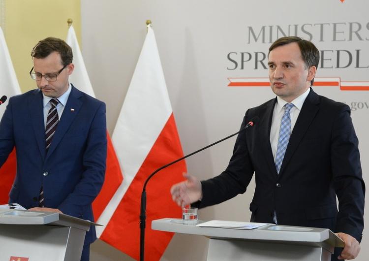 Minsterstwo Sprawiedliwości Ziobro do Strzembosza: A pan się rozliczył z tego, co pan obiecał Polakom?