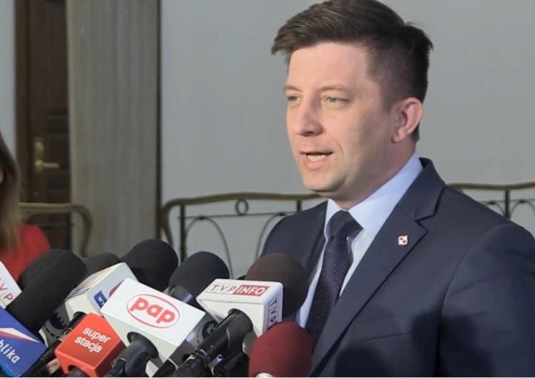 """Min. Dworczyk: """"Jaka szkoda...Pan Grzegorz Schetyna przestraszył się Mateusza Morawieckiego i uciekł"""""""