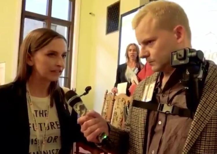 """[video] Dziennikarz do dr Spurek: """"Napisaliśmy manifest facetystyczny, chcemy bronić mężczyzn-zwierząt"""""""