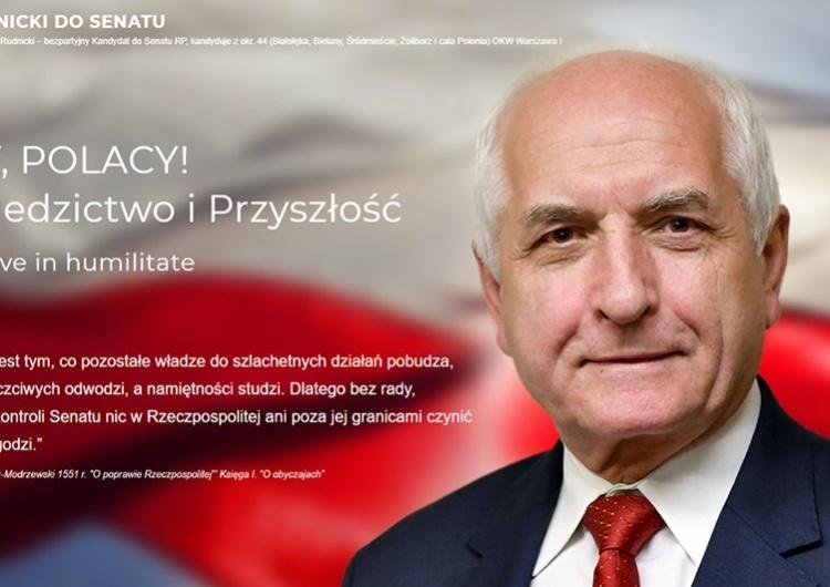 Waldemar Biniecki: Wywiad z Prof. Markiem Rudnickim, polonijnym kandydatem do Senatu RP.