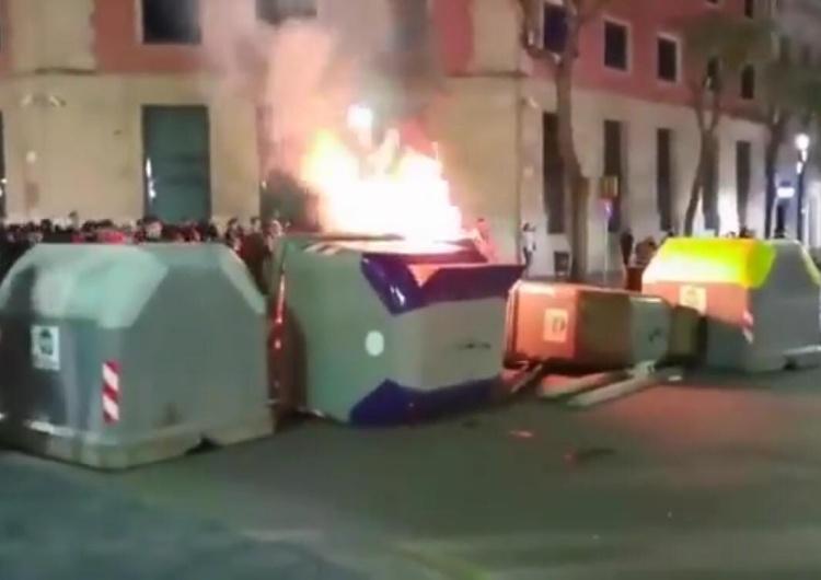 [video] Barcelona płonie. Separatyści chcą nowego referendum