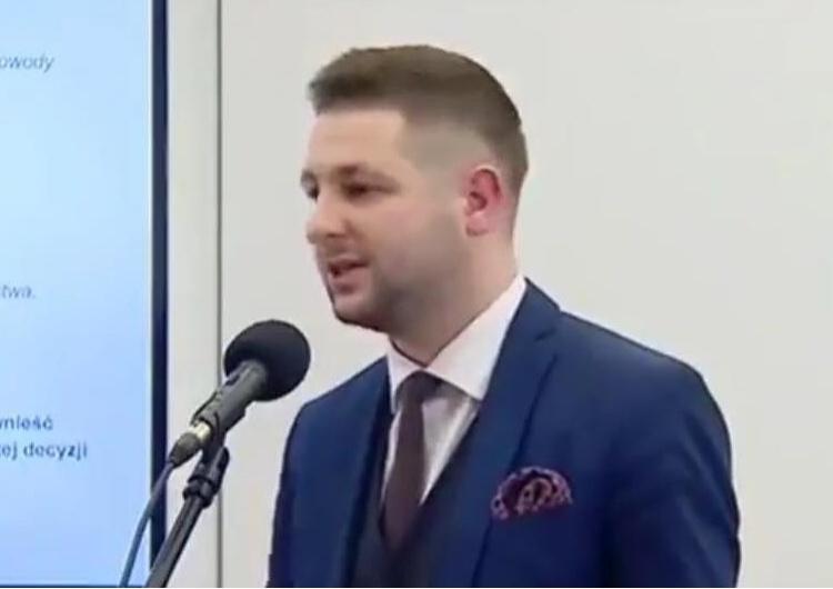 """Patryk Jaki: """"Min. Ziobro NIE CHCE(!) teki wicepremiera, TVN wyciął fragment mojej wypowiedzi..."""""""