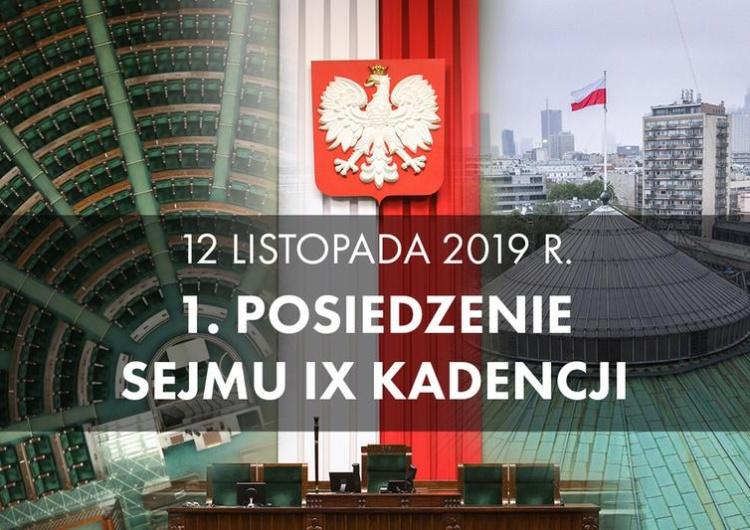 Dziś pierwsze posiedzenie nowego Sejmu