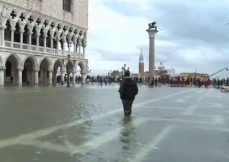 Wenecja pod wodą. Sytuacja w mieście jest dramatyczna