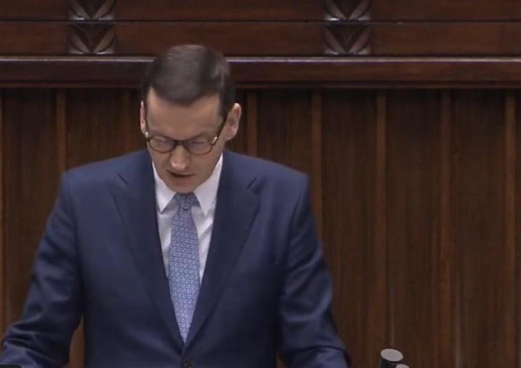 [transmisja online] Expose Premiera Morawieckiego
