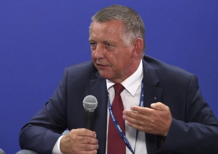 Szef NIK Marian Banaś pojawił się na komisji ds. kontrolipaństwowej