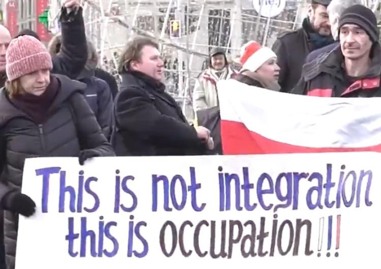 """[video] Tak Białorusini protestują przeciwko integracji z Rosją: """"Жыве Беларусь!"""""""
