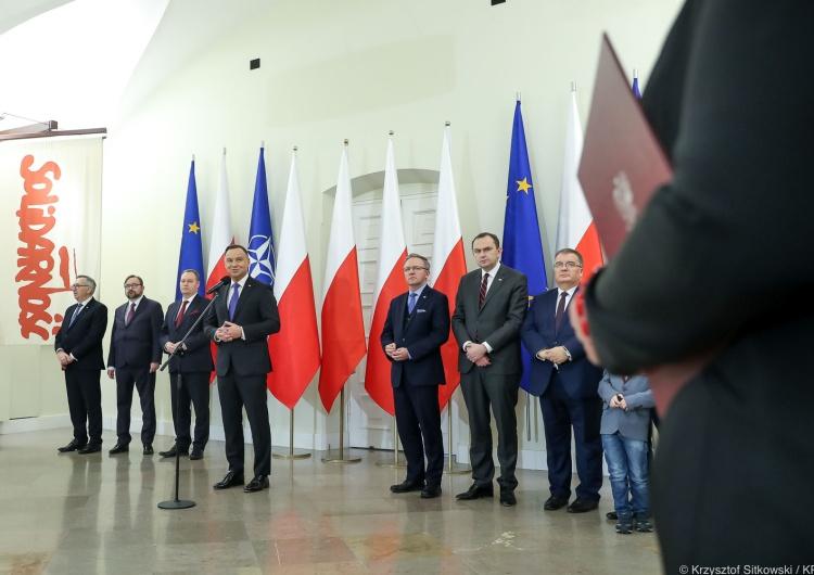Prezydent powołał siedmiu nowych członków Rady DialoguSpołecznego