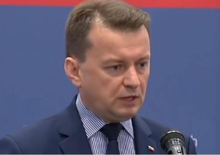 """Min. Błaszczak: """"Żaden z polskich żołnierzy w Iraku nie ucierpiał po atakach rakietowych"""""""