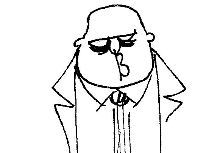 """[Kliknij aby zobaczyć całość] Nowy rysunek Krysztopy: """"Czego hołoto nie rozumiesz?"""""""