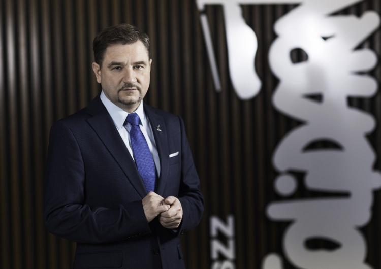 """""""Pandemia COVID-19 jest sytuacją szczególnie trudną i niebezpieczną"""". Piotr Duda apeluje do członków """"S"""""""