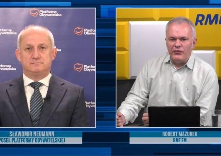 [video] Neumann u Mazurka... Nie pamięta hasła wyborczego Kidawy-Błońskiej
