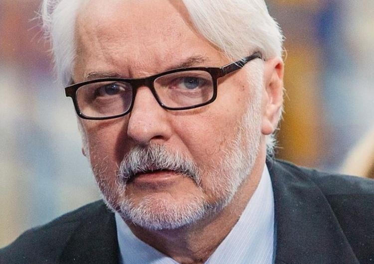 """Waszczykowski krytykuje Mosbacher: """"Obrona Faktów TVN to opowiedzenie się po stronie politycznego sporu"""""""
