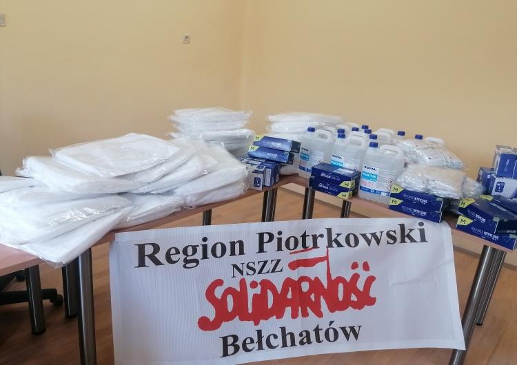 Solidarność Regionu Piotrkowskiego pomaga w walce z koronawirusem