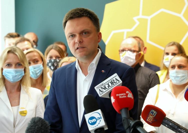"""""""SE"""": Tajny plan. Szymon Hołownia prezydentem Warszawy?"""
