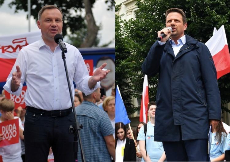 [SONDAŻ] Andrzej Duda kontra Rafał Trzaskowski. Jak zachowa się elektorat kandydatów z pierwszej tury?
