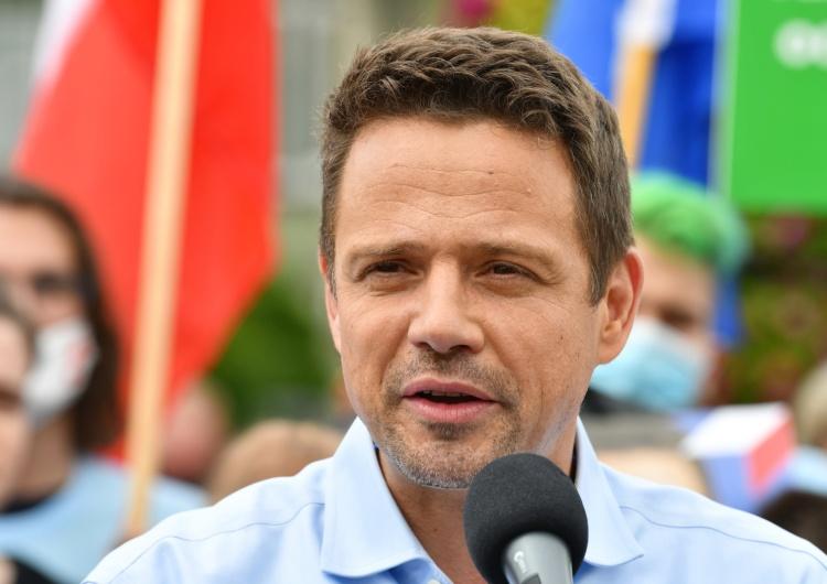 Grzegorz Michałowski [video] Trzaskowski nt. zachowania Nitrasa: Dbał, by minister nie osunął się ze schodów