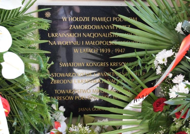 [video] Dzień Pamięci Ofiar Ludobójstwa na Wołyniu. Na Jasnej Górze obchody z odsłonięciem tablic