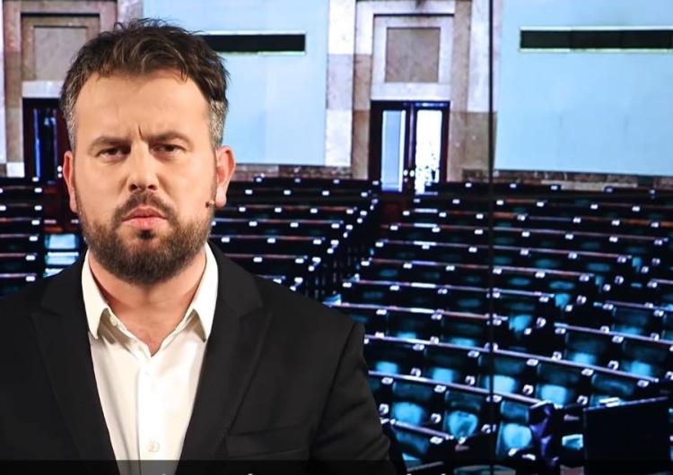 Nizinkiewicz: Zabawni są zwolennicy Rafała Trzaskowskiego, którzy wczorajszą konferencję nazywają debatą