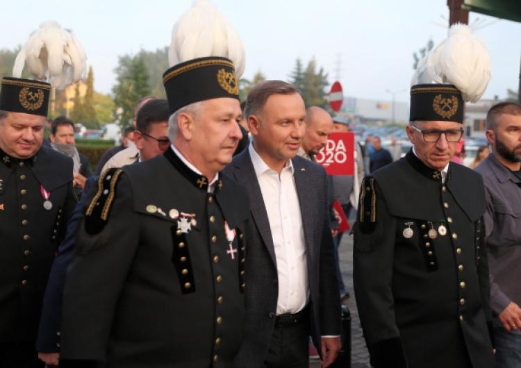 Prezydent Andrzej Duda w Zofiówce: To tutaj rodziła się wtedy Solidarność