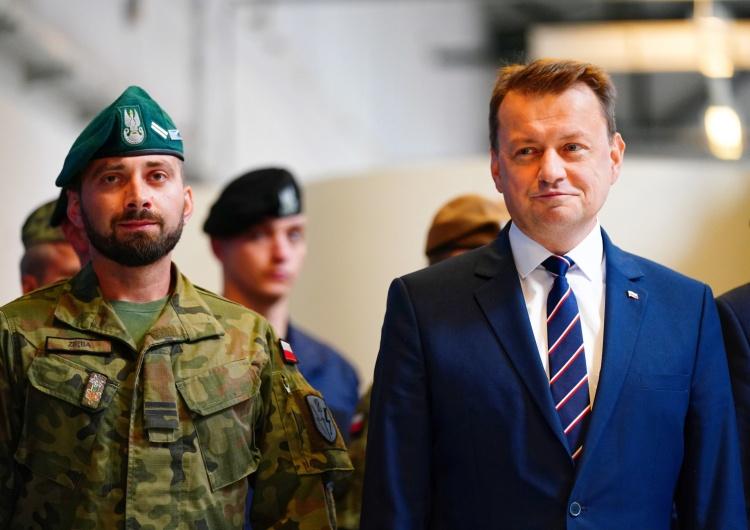 Co z FortemTrumpw przypadku wygranej Bidena? Szef MON odpowiada Tuskowi