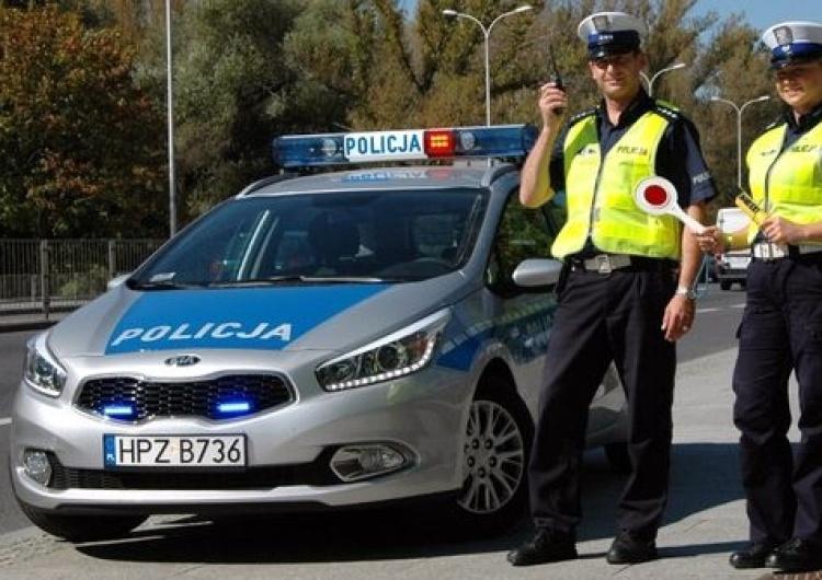 Piotr Duda do Policjantów: Życzę Wam powszechnego społecznego szacunku