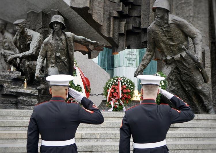 Ambasadorzy USA i Izraela w Polsce oddali cześć Powstańcom Warszawskim