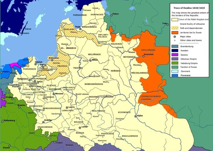 """""""Polacy marzyli o dominacji"""". Moskiewski korespondent BBC publikuje screen z rosyjskiej tv z mapką I RP"""
