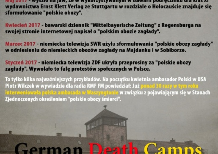 "Zrzutka na film dokumentalny ""German Death Camps"""