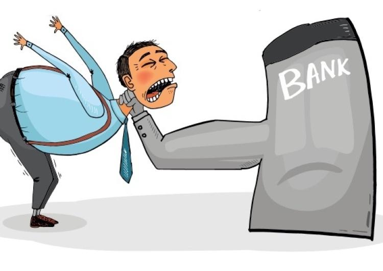 Banki chcąc nie chcąc muszą brać pod uwagę możliwość upadku konsumenta