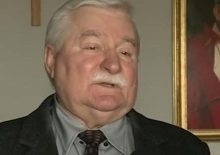 Wałęsa: trzeba aresztować około 15 ludzi z obecnej władzy w tym polityka Rydzyka